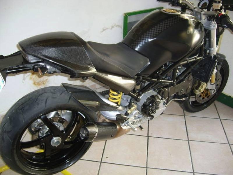 Termignoni Ducati Monster  Carbon Slip On Exhaust
