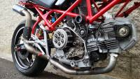 Ducati Monster 2-1 high up Kompl...